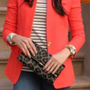 J.Crew Regent Wool Blazer in Bohemian Red/Orange 2